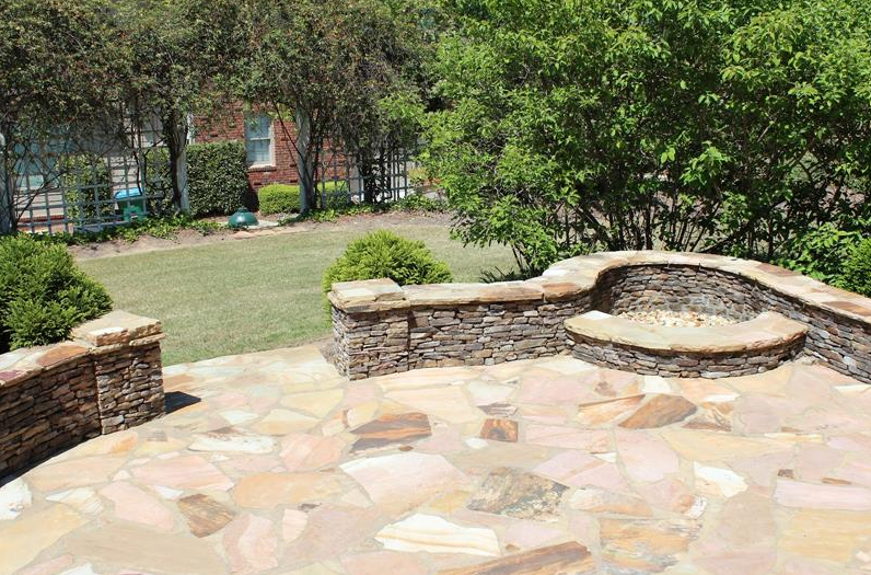 Awesome Stone Patio Designs