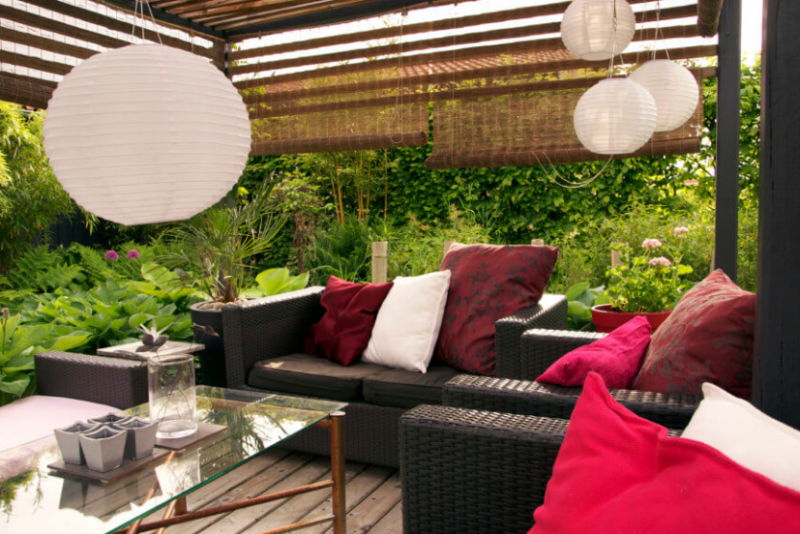 Best Outdoor Privacy Screen Ideas For Your Backyard Home And - Backyard privacy screen