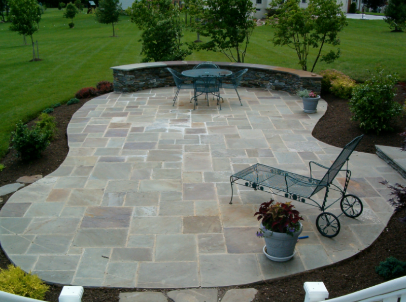 Wonderful Beautiful Stone Patio