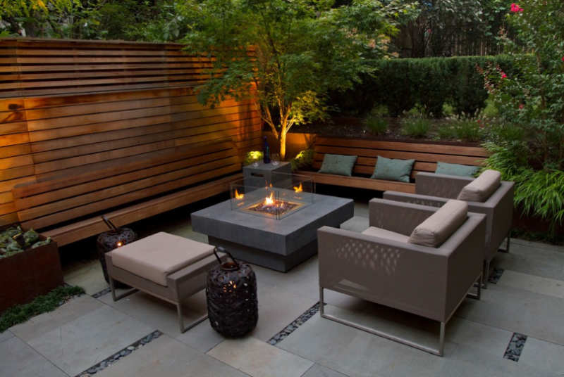Modern Stone Patio Ideas