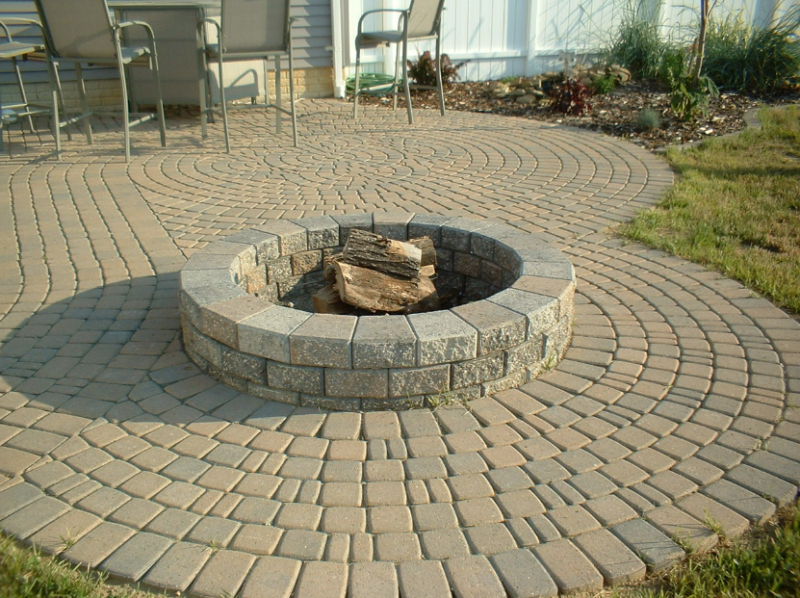 Patterns Stone Patio Ideas