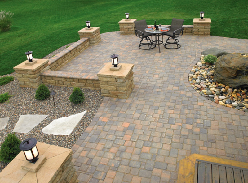 Etonnant Paver Patio Designs