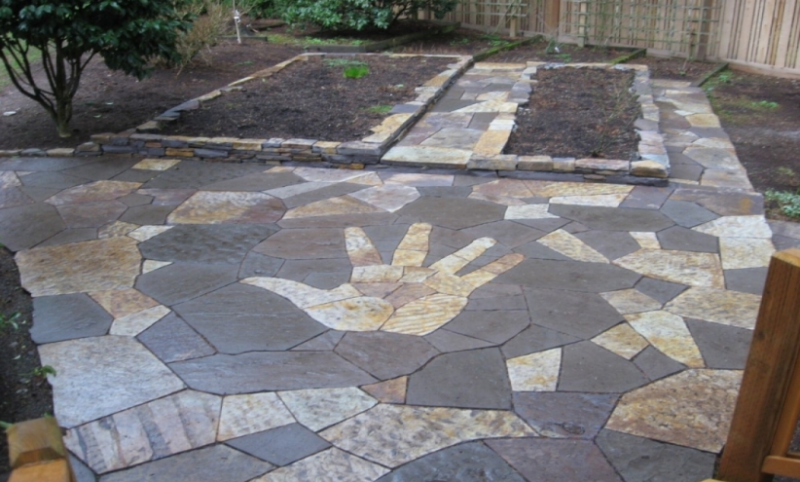 20+ Best Stone Patio Ideas for Your Backyard - Home and Gardens