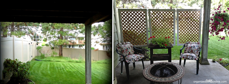 simple privacy screens - 10+ Best Outdoor Privacy Screen Ideas For Your Backyard - Home And