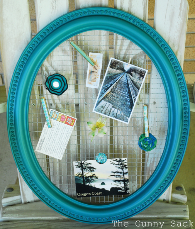 quality mirror with turquoise accent