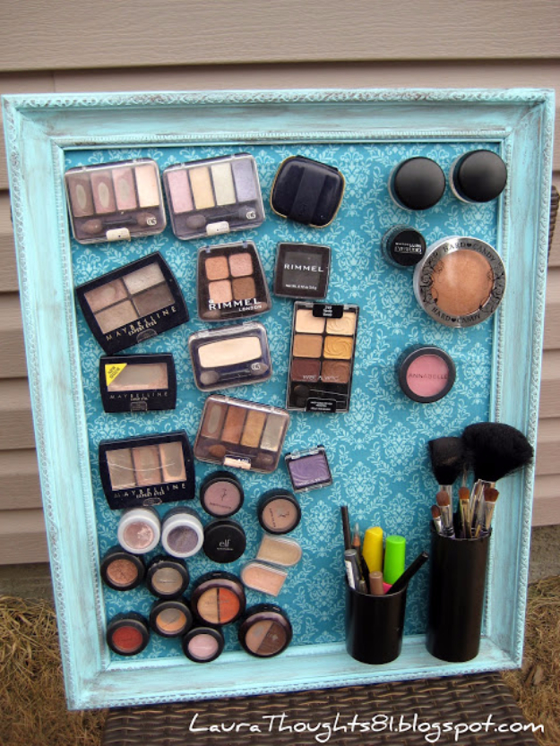 turqoise makeup set