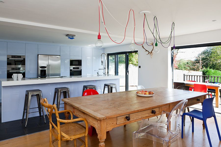 Messy Colorful Pendant Lighting