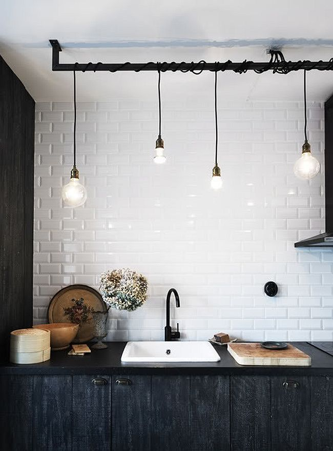 Vintage Irregular Pendant Light Bulb