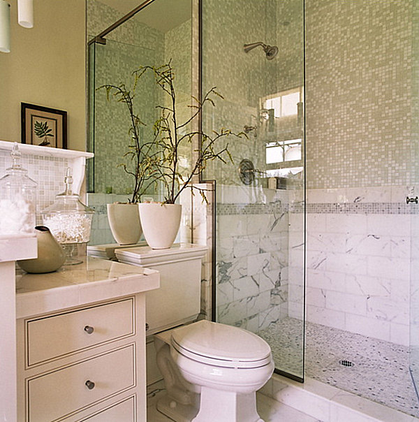 Beau Classis Favorite Small Bathroom With Nature Element
