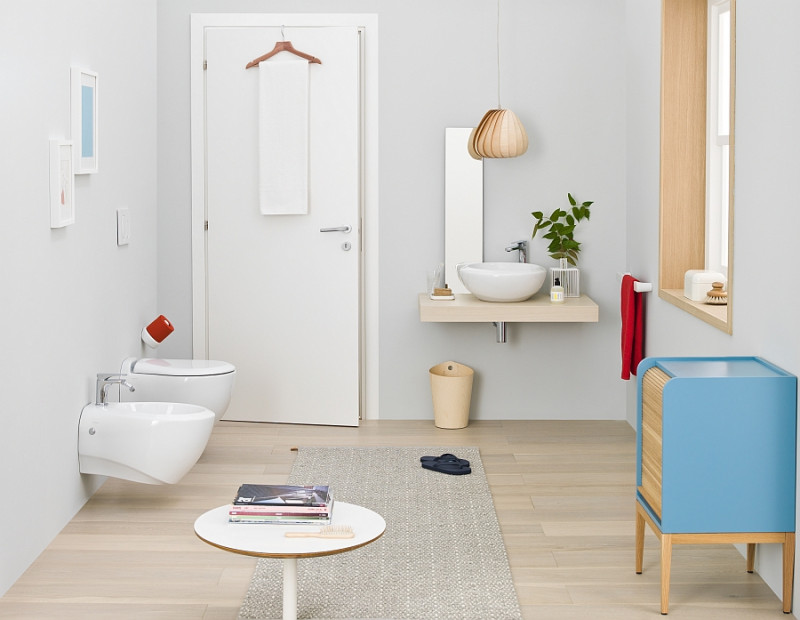 Desigining a small bathroom in an elegant and soothing manner