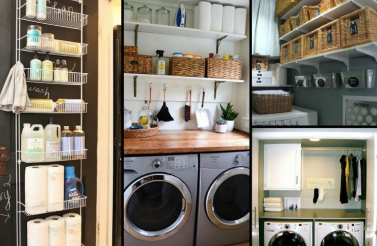 12 brilliant ways to organize a small laundry room on a 20951 | organize a small laundry room