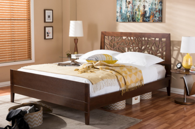 Beautiful Classic Headboard Queen Bed