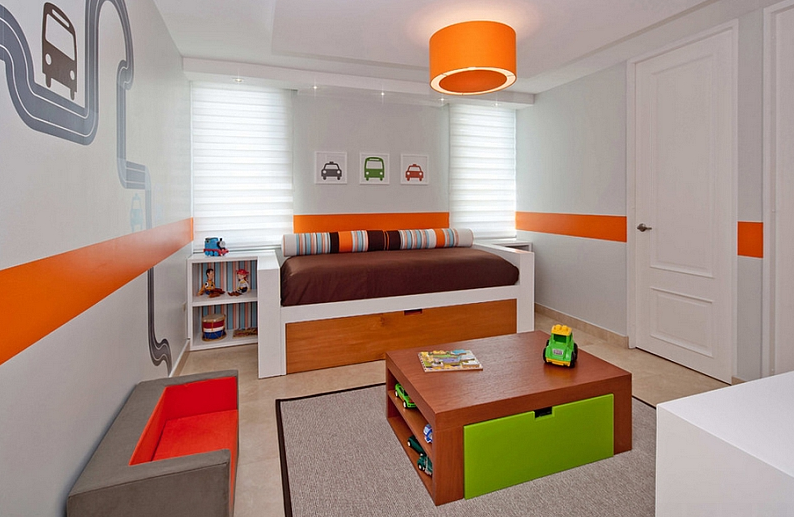 Fun Switchable Accents to Design and Decorate a Kids' Room