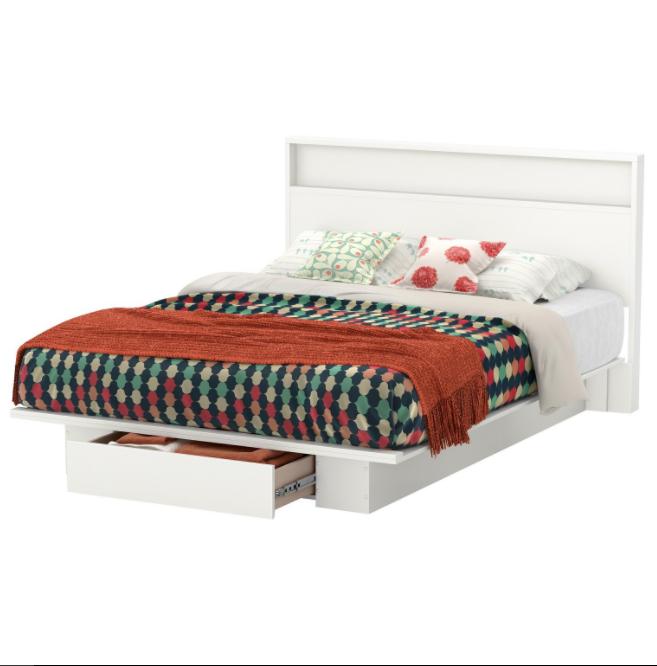 One Shelf Bed