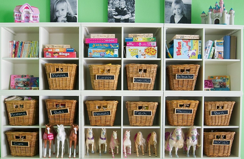 Rethink the Storage Options to Design and Decorate a Kids' Room