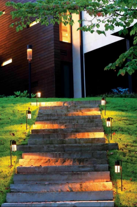 Zigzag Outdoor Lighting