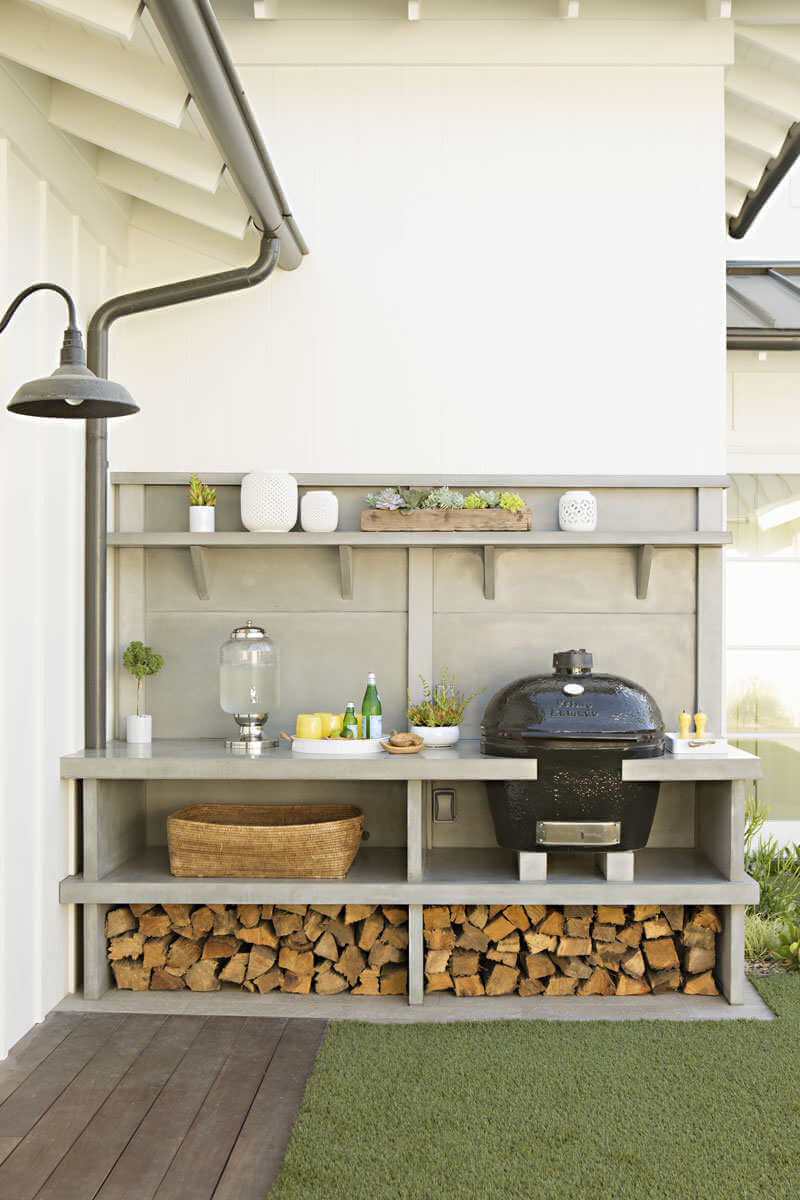 Outdoor Kitchen Ideas for Perfect Family Gathering 12