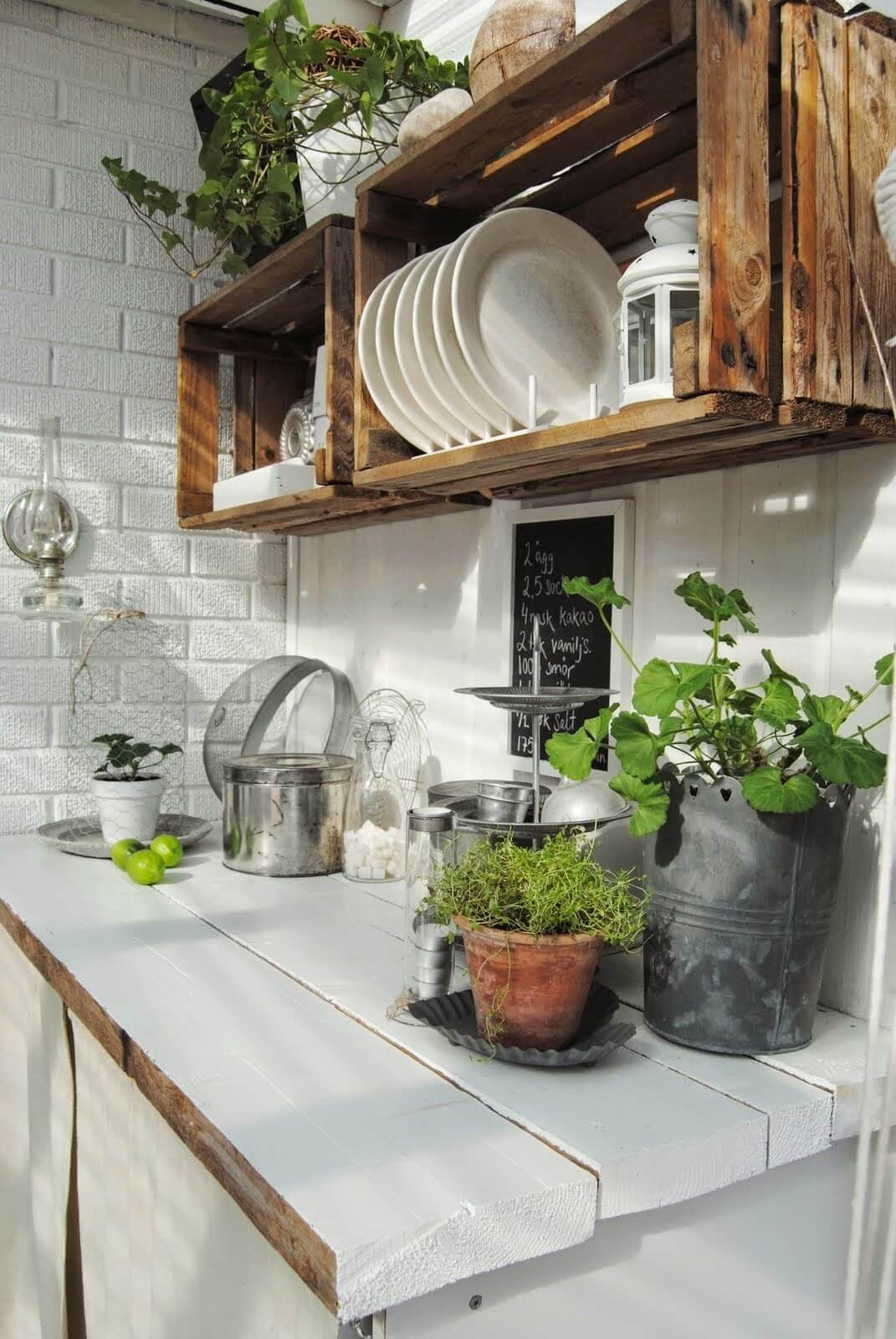 Outdoor Kitchen Ideas for Perfect Family Gathering 14