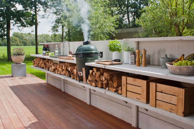 Outdoor Kitchen Ideas for Perfect Family Gathering 15