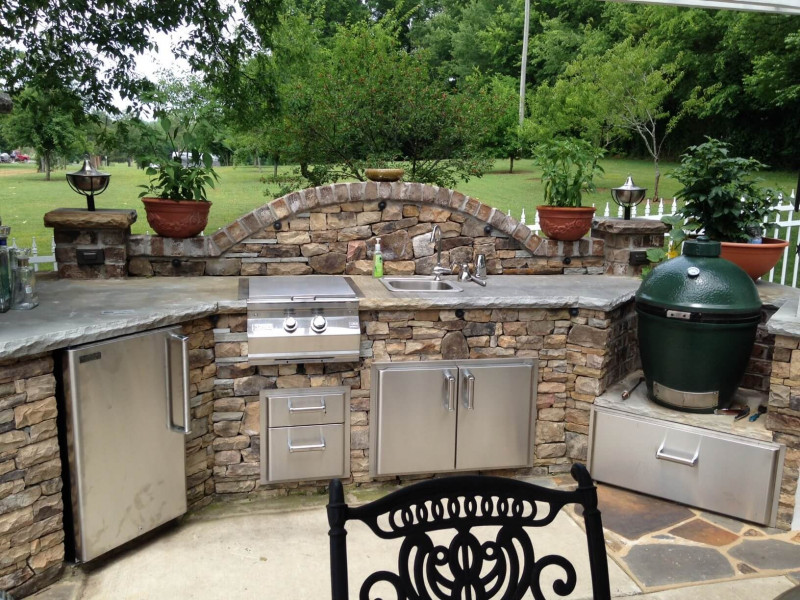 50 Exquisite Outdoor Kitchen Ideas For Perfect Family Gathering