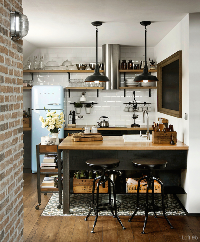 Unique Small Kitchen Ideas You Can Use 4