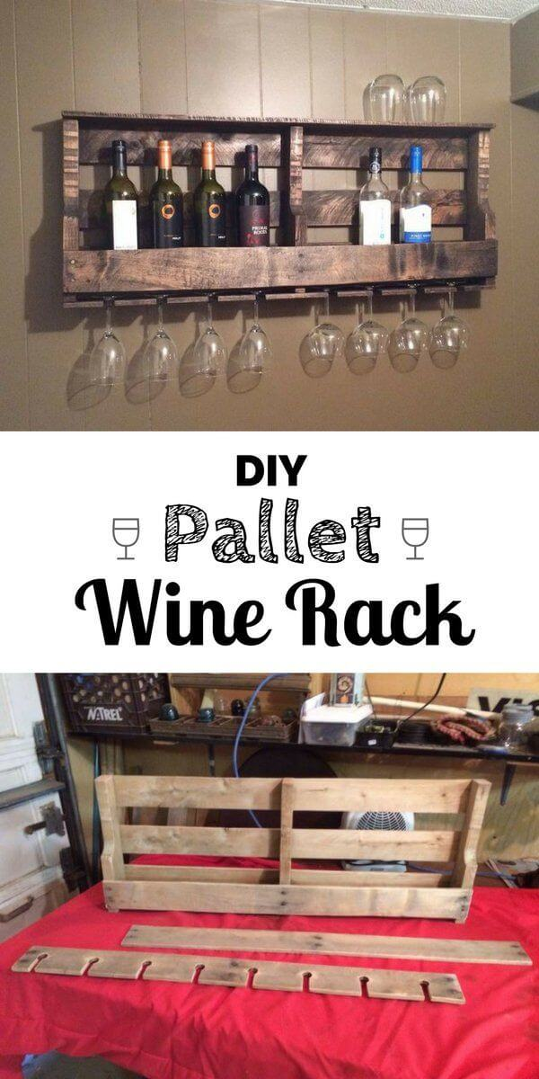 kitchen-wall-decor-ideas The wine rack