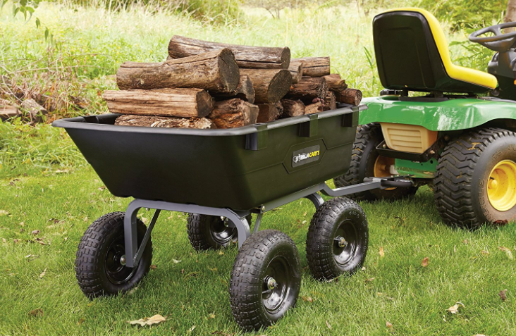 Best Four-Wheeled Gorilla Carts GOR6PS Best Wheelbarrow 1
