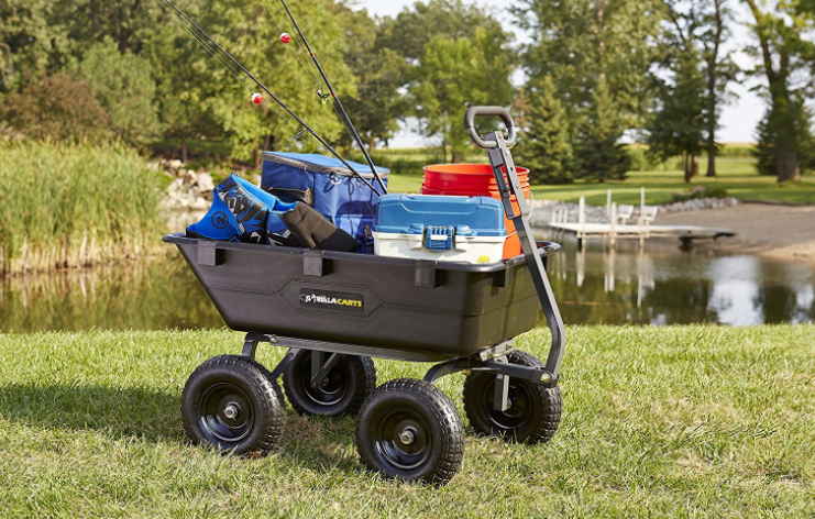 Best Four-Wheeled Gorilla Carts GOR6PS Best Wheelbarrow 3