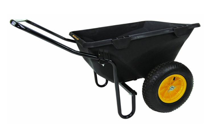 Polar Trailer 8449 7 Cubic Feet Heavy-Duty Cub Best wheelbarrow Cart 1