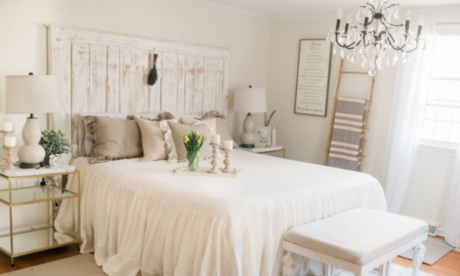 65+ Relaxing French Country Bedroom Design and Decor Ideas ...