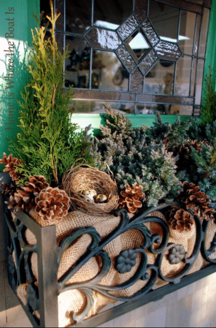 Gorgeous Cast Iron Filigree Window Box