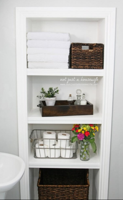Spa Locker Streamlined Shelving Unit