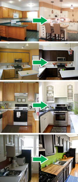 Budget Friendly Kitchen Makeover: 75 Before And After: Budget Friendly Kitchen Makeover