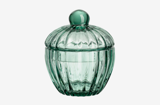 H&M Glass Container