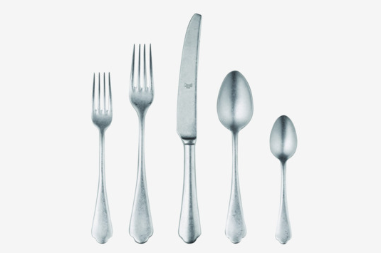 Mepra Pewter 5-Piece Flatware Set