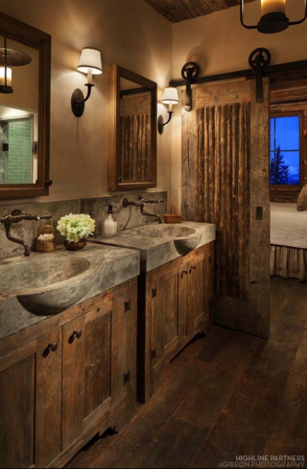 75 Best Rustic Bathroom Decor Ideas To