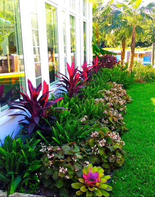 Tropical Garden Design Ideas 1