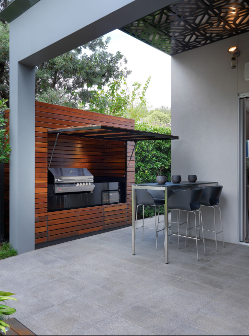 patio kitchen in Melbourne
