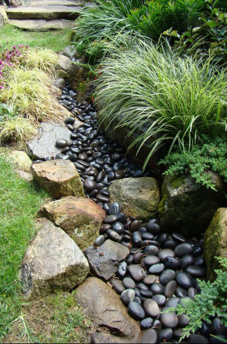 Dry Creek Bed Landscaping 2