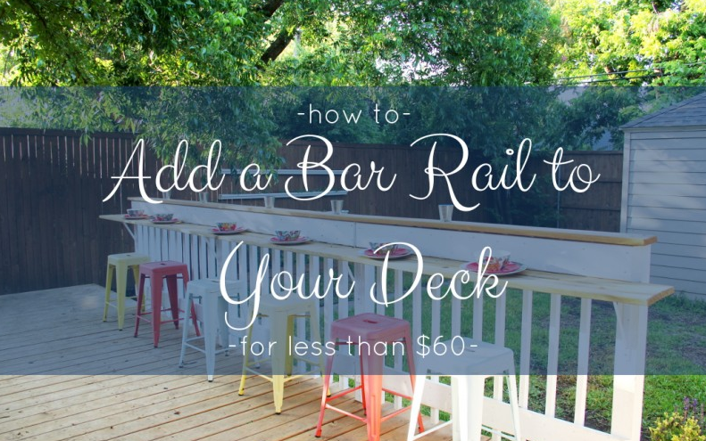 Make It Practical-diy deck railing