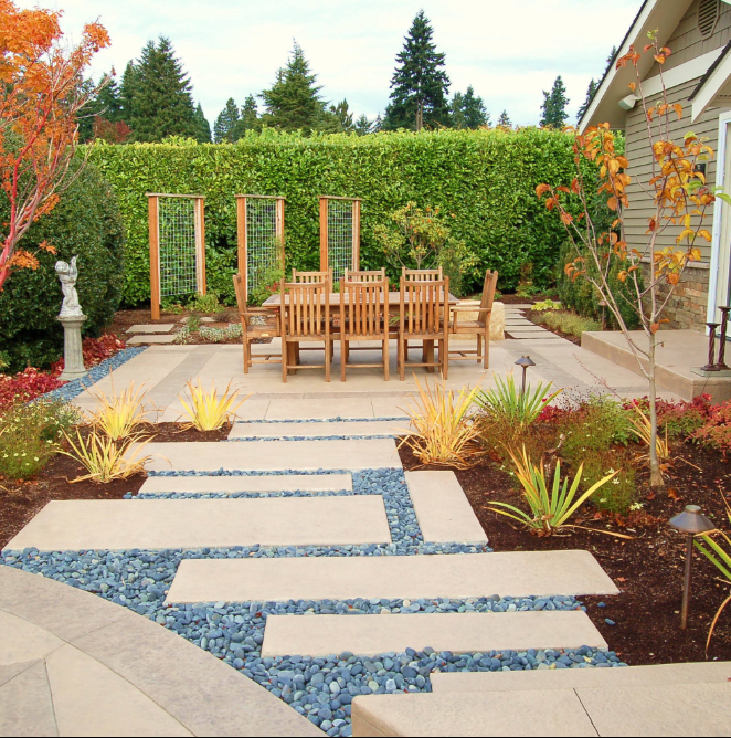 contemporary patio seattle