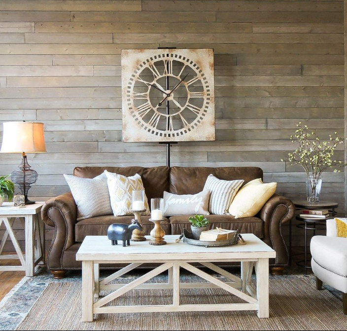 135 Best Farmhouse Living Room Decor Ideas for 2018 - Home ...