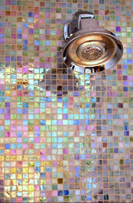 Multi-Color Mosaic Tile Squares