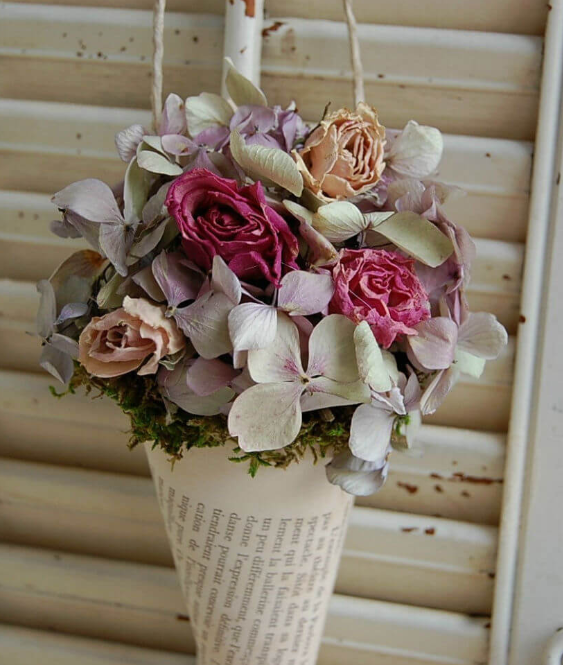 Romantic French Farmhouse Inspired Bouquet