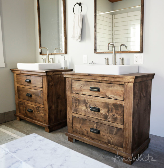 How to install a bathroom vanity home and gardens - How to install a bathroom vanity ...