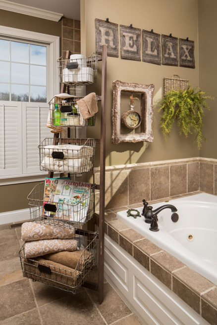 Bathroom Storage Ideas - Basket Cases