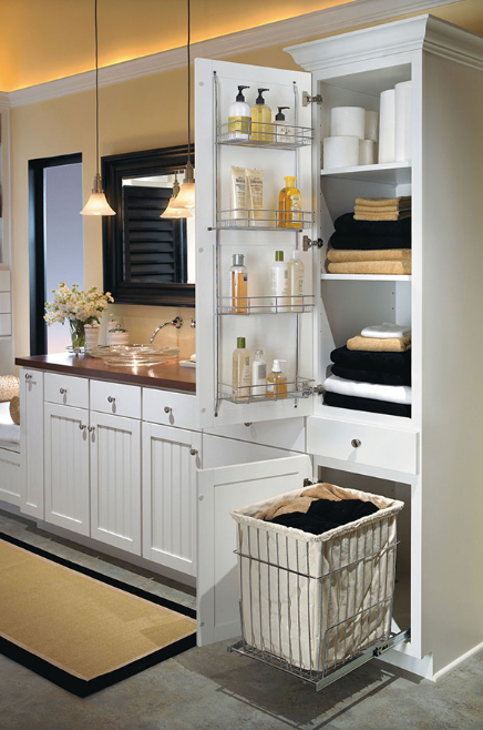 Bathroom Storage Ideas - Lightweight and Durable
