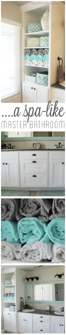 Bathroom Storage Ideas - The Spa Treatment