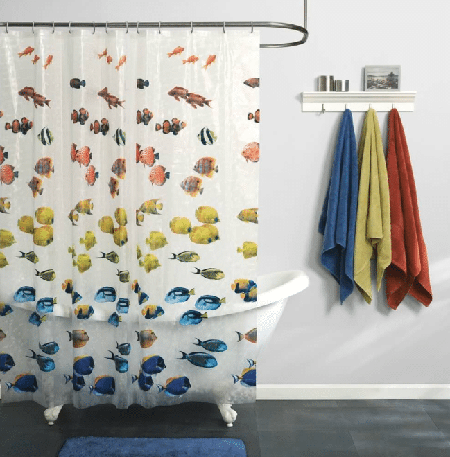 Fish Fun Shower Curtain