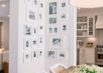 White Picture Frames White Walls